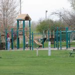 Campsite playground
